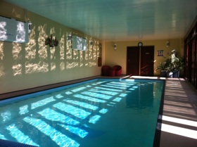 Brooklands pool pilates retreat